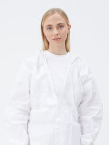 Cheap white protective suit