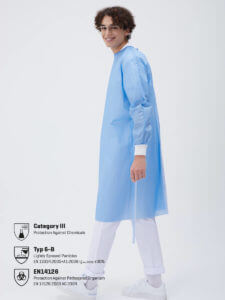cheap Disposable protective gown